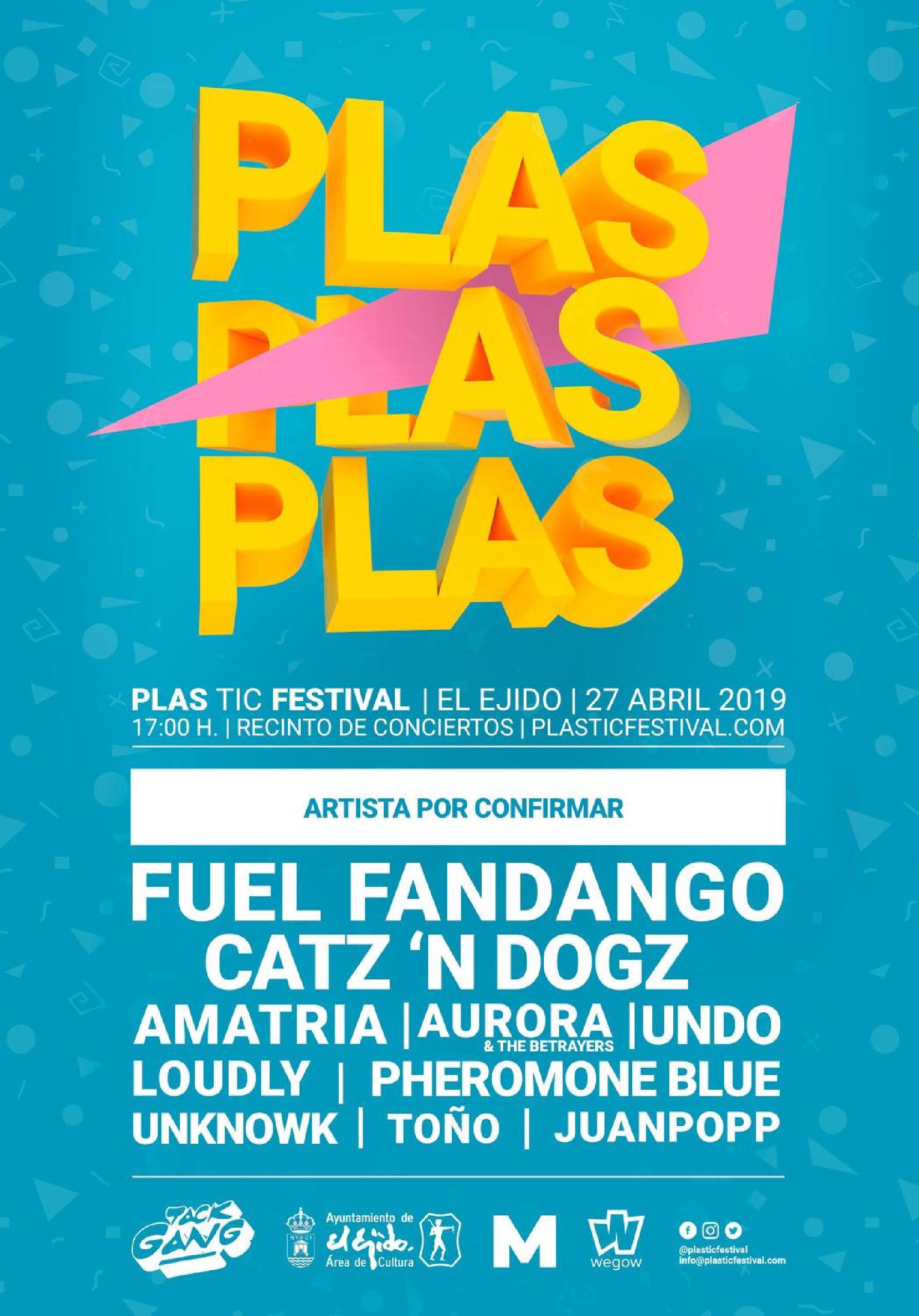 Primeras confirmaciones Plastic Festival 2019