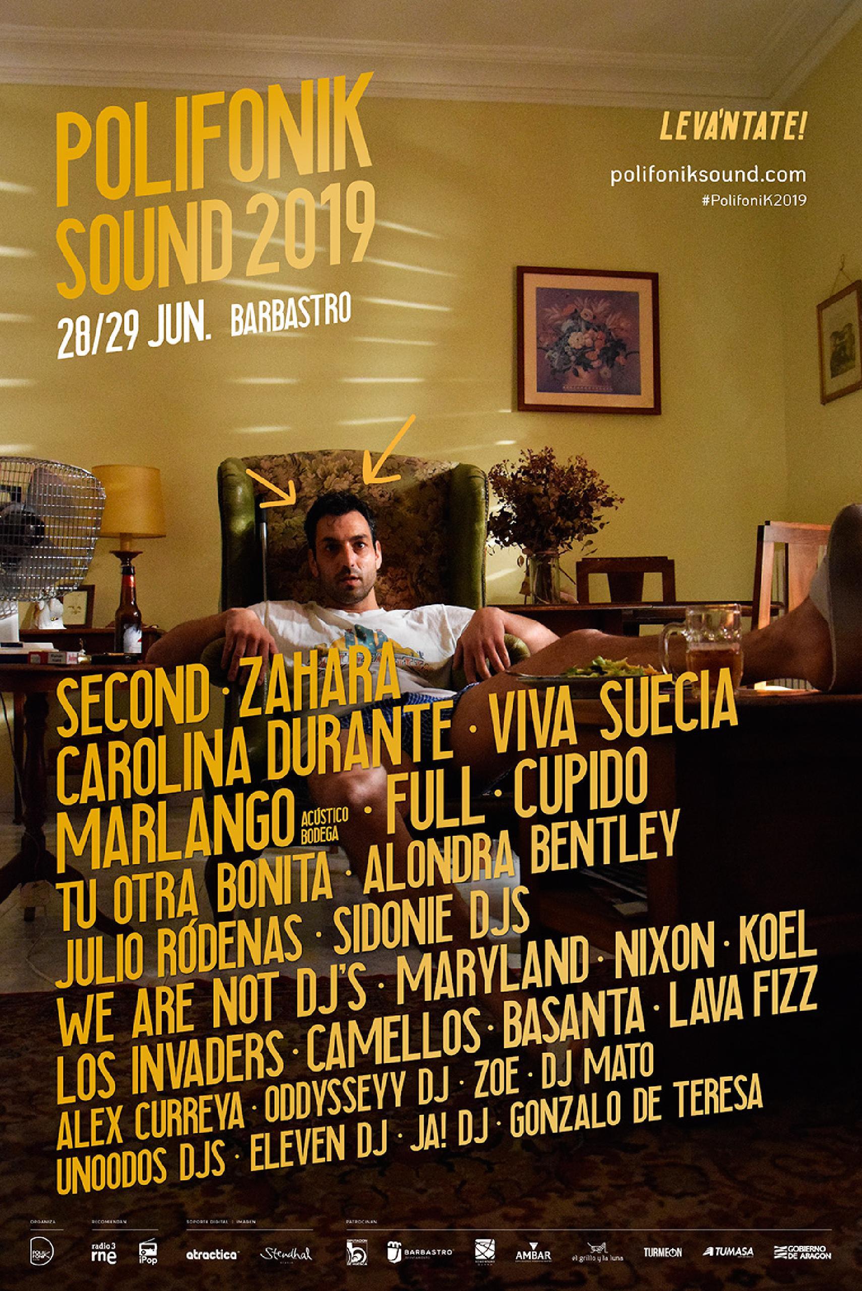 Polifonik Sound 2019 Cartel 1