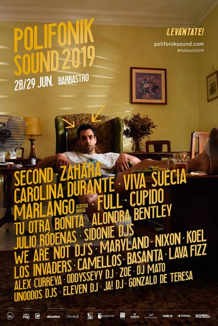 Polifonik Sound 2019 Cartel 1