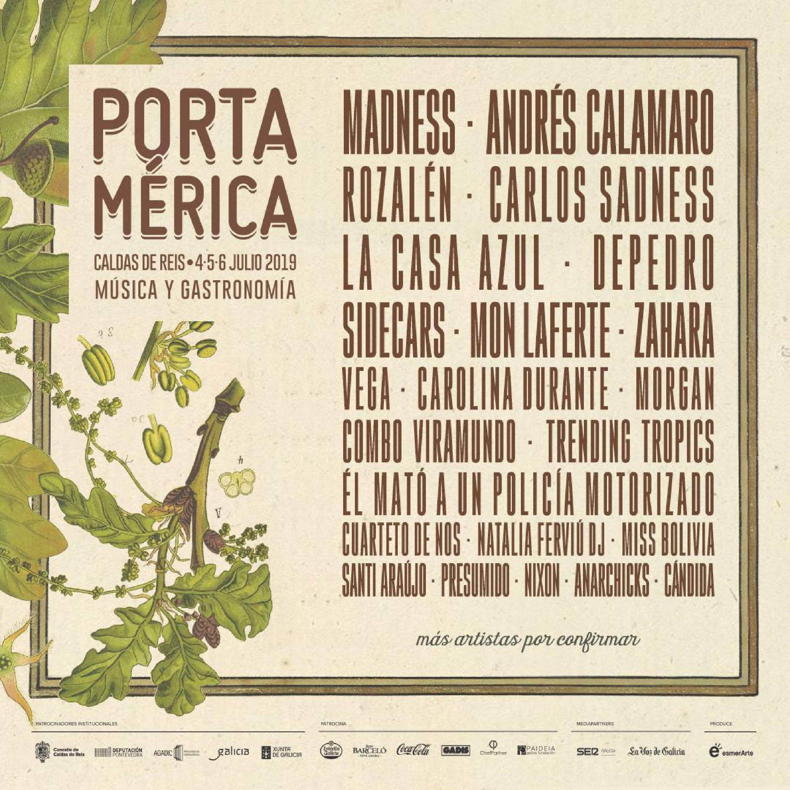 Cartel Portamerica 2019