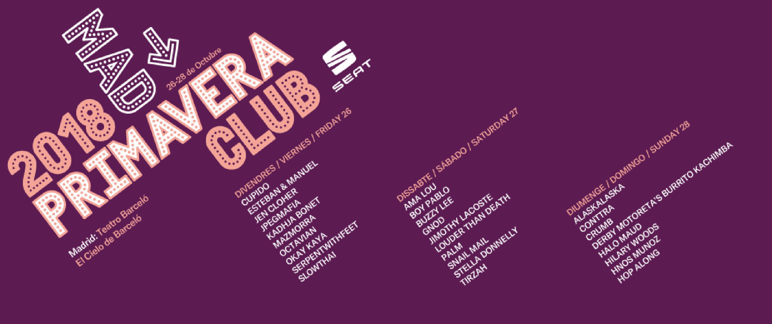 Primavera Club Madrid 2018