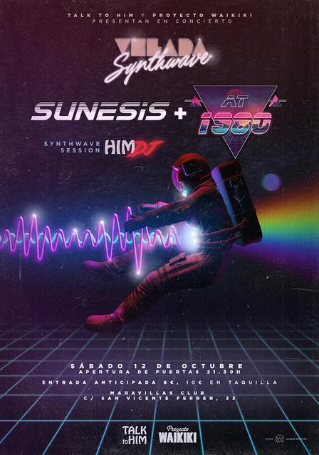 Proyecto Waikiki y Talk to Him presentan: Sunesis + At 1980