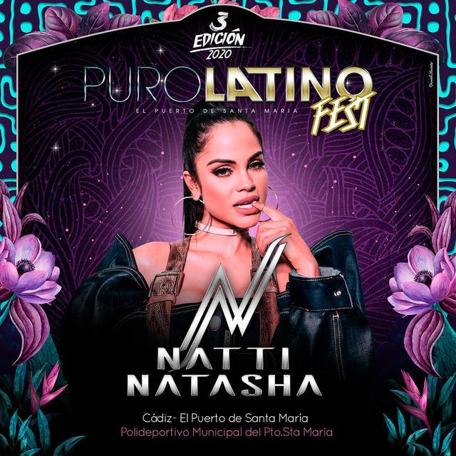 Natti Natasha en Puro Latino Fest 2020
