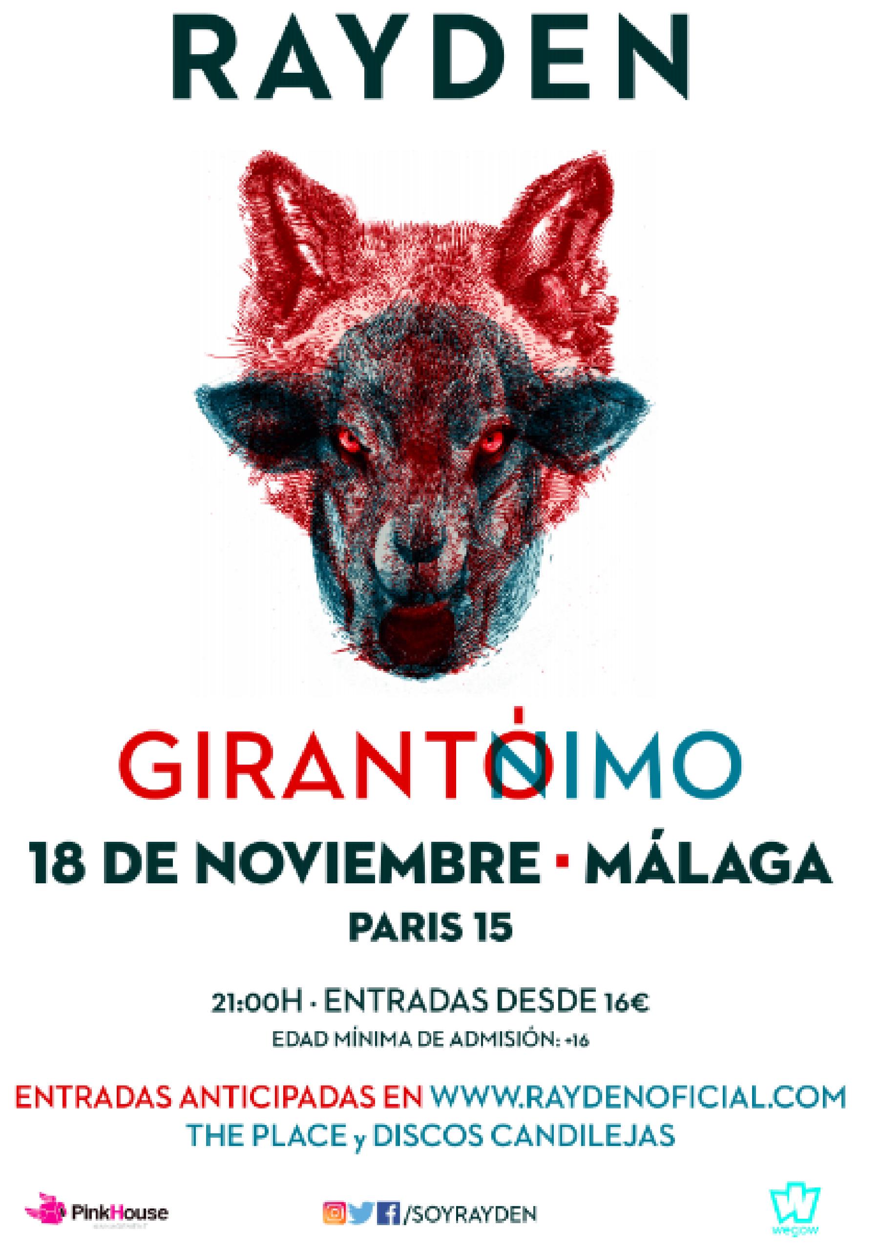 Cartel Málaga