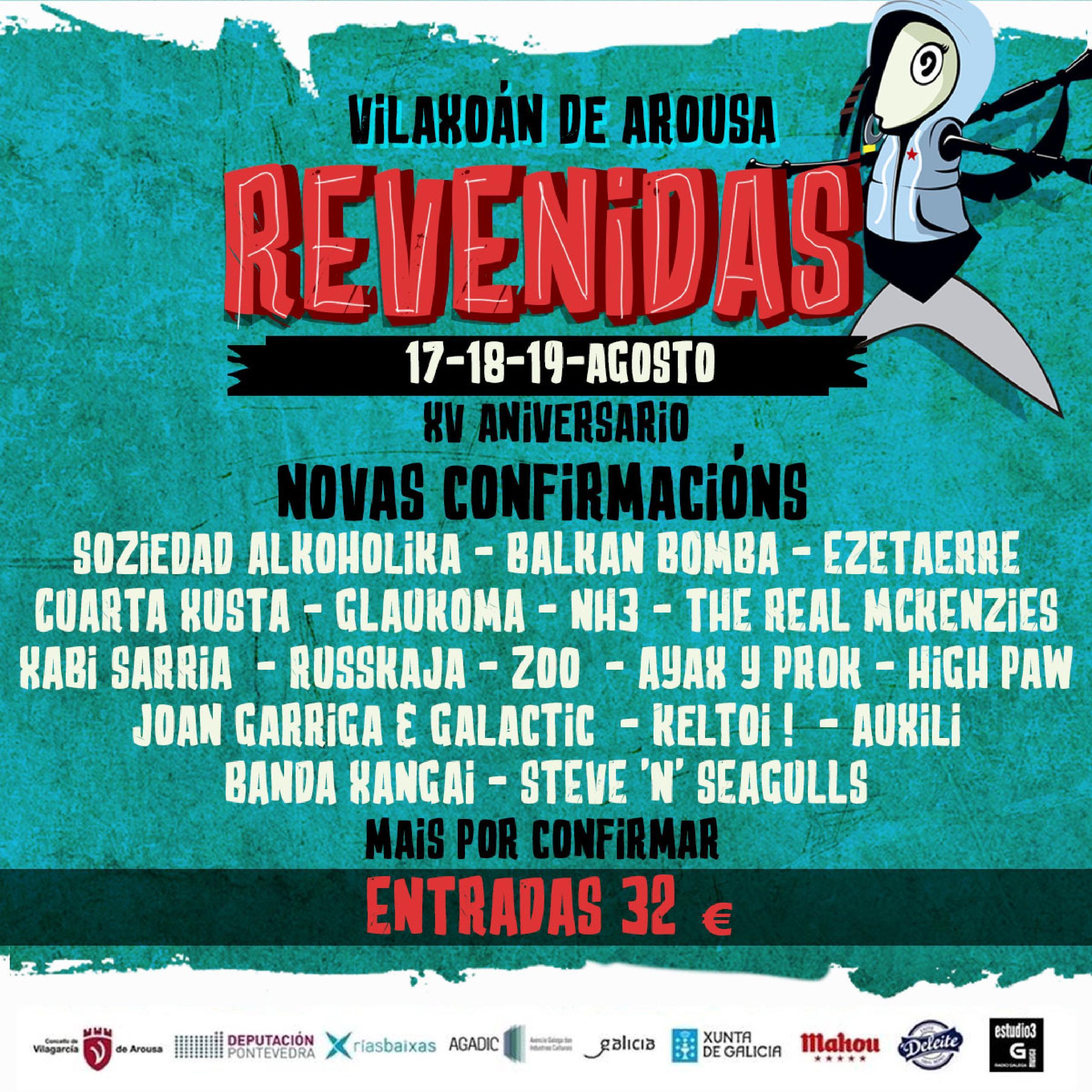Cartel del festival Revenidas 2018