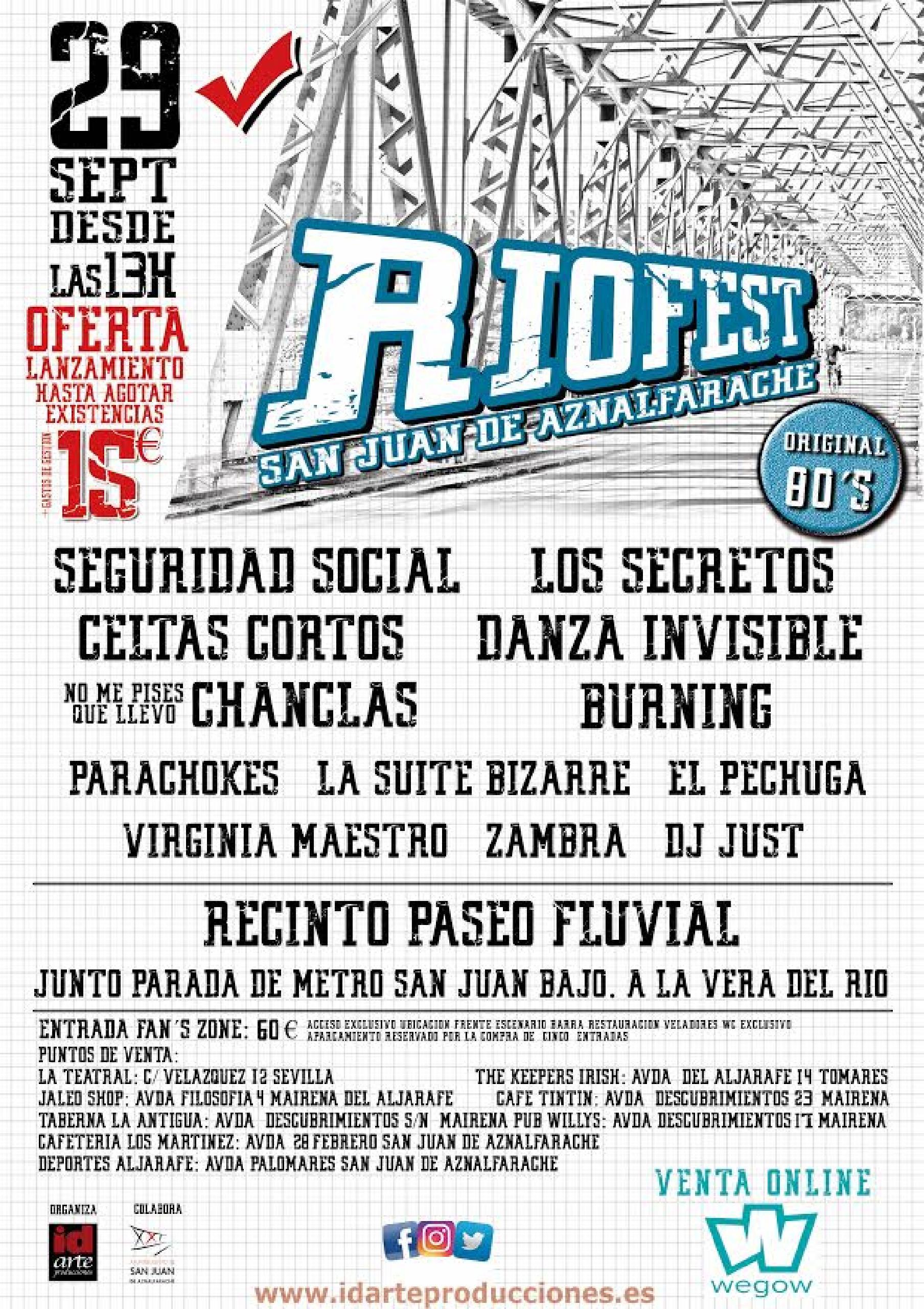Riofest Sevilla 2018