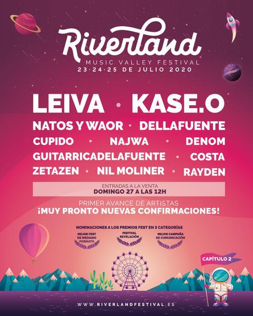 Cartel de Riverland 2020
