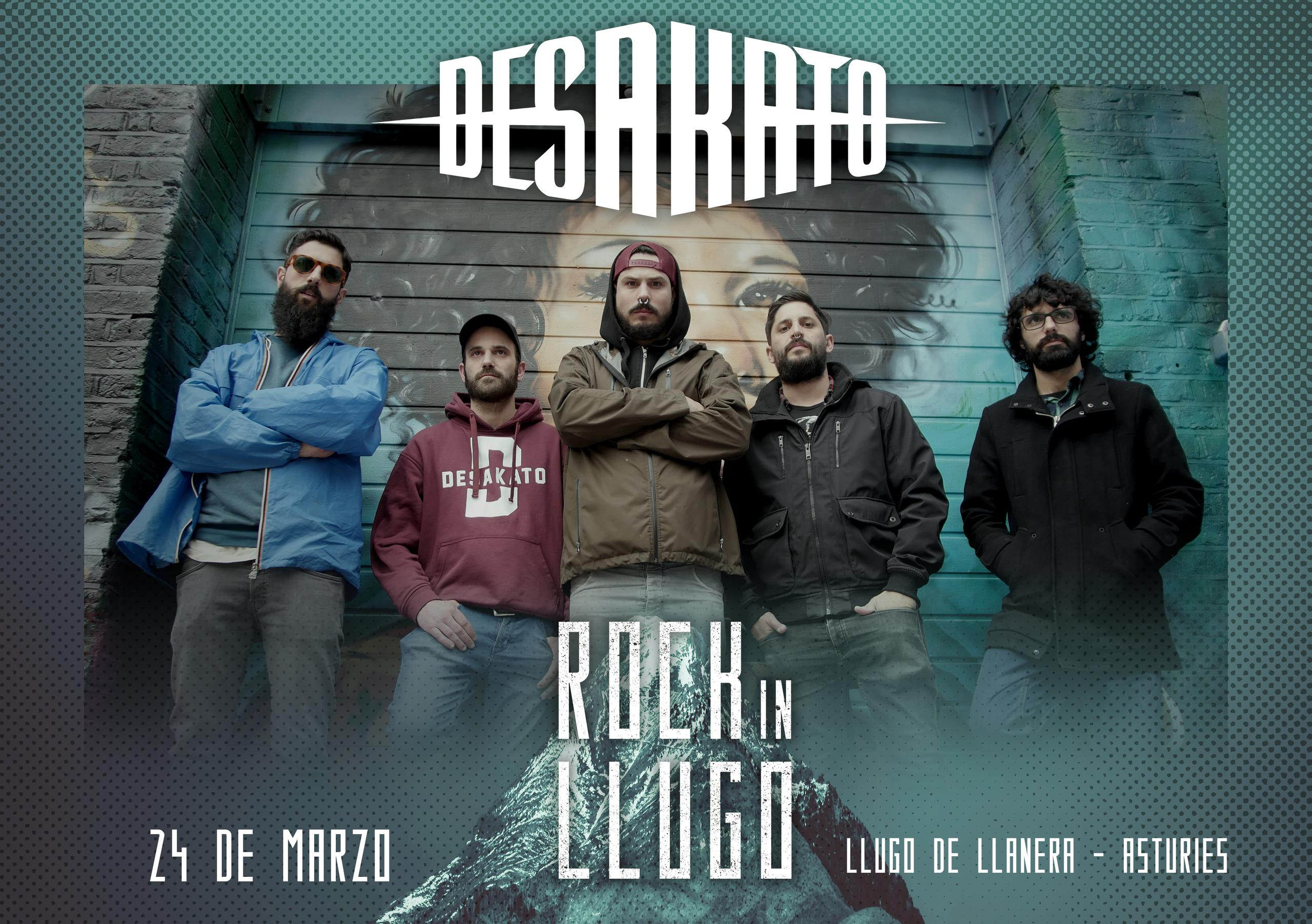 ¡¡Desakato estarán en el Rock in Llugo!!