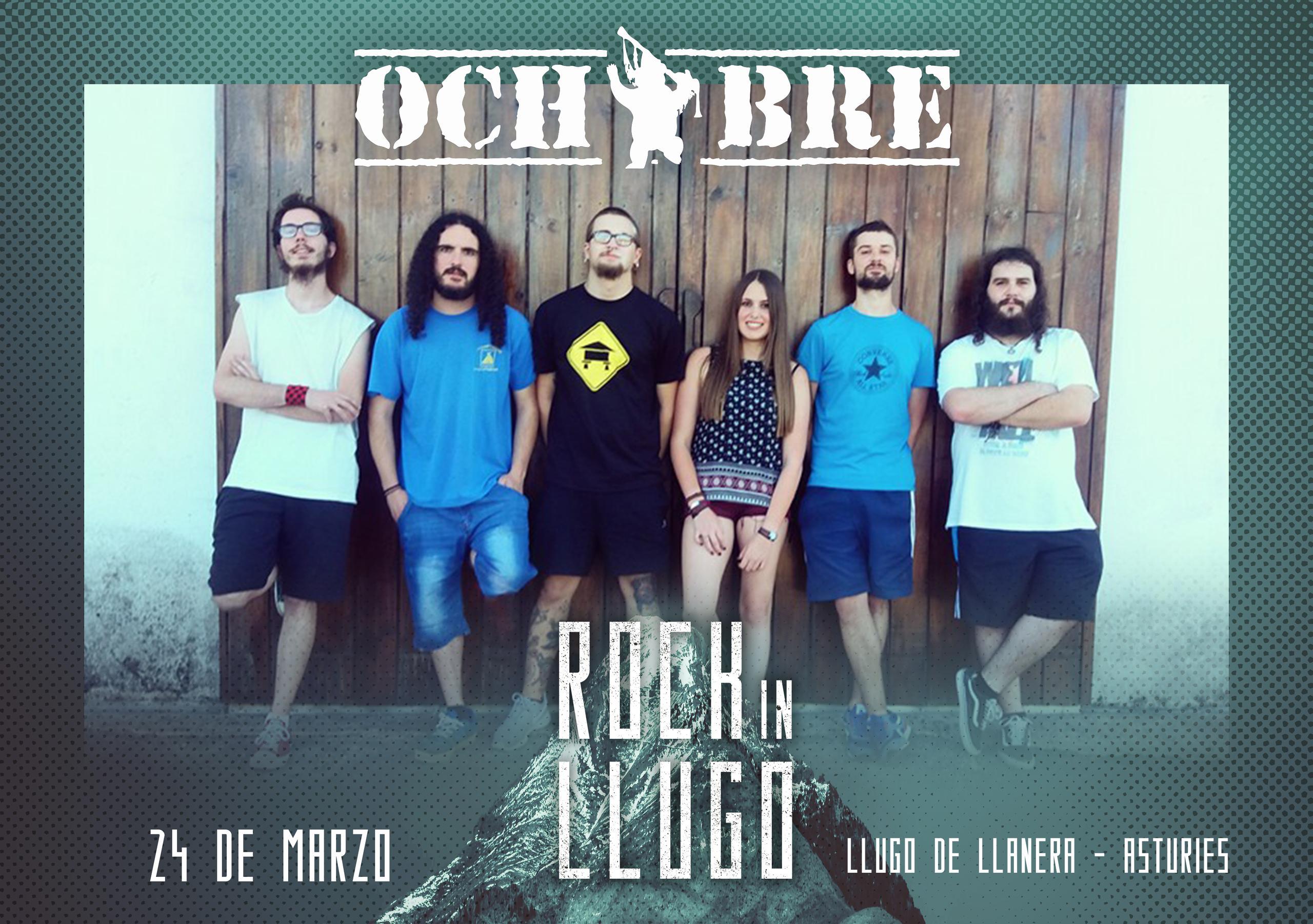 ¡¡Ochobre estarán en el Rock in Llugo!!
