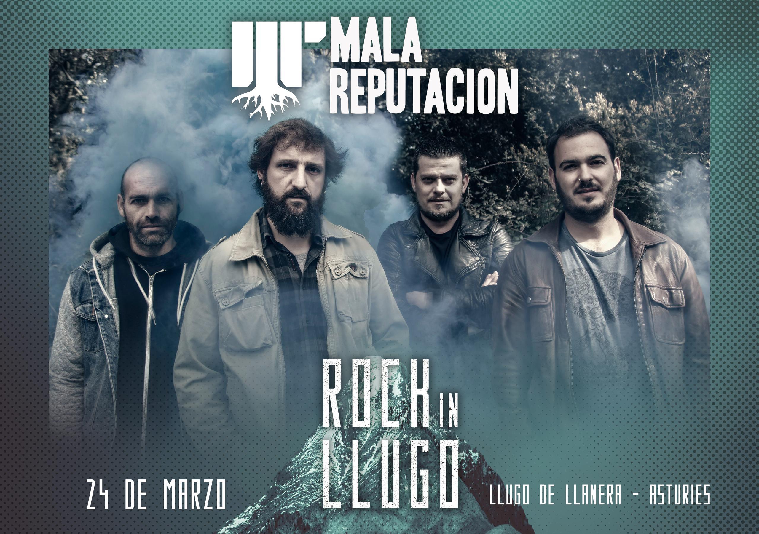 ¡¡Mala Reputación estarán en el Rock in Llugo!!