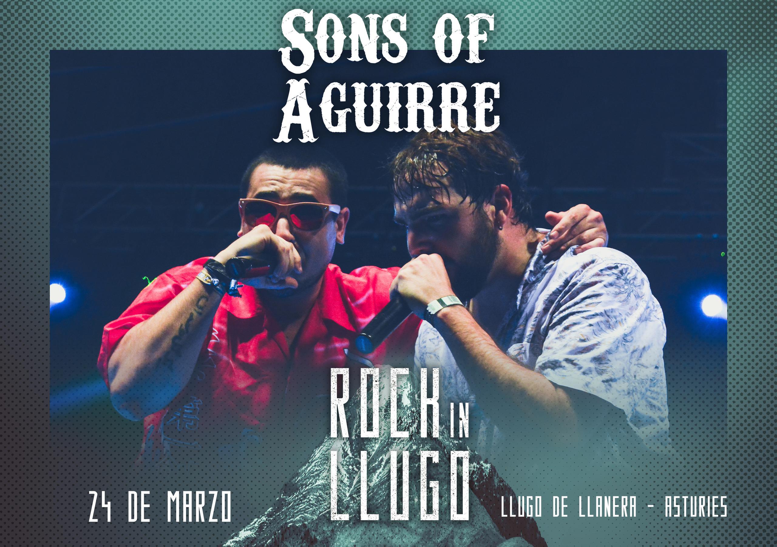¡¡Sons of Aguirre estarán en el Rock in Llugo!!