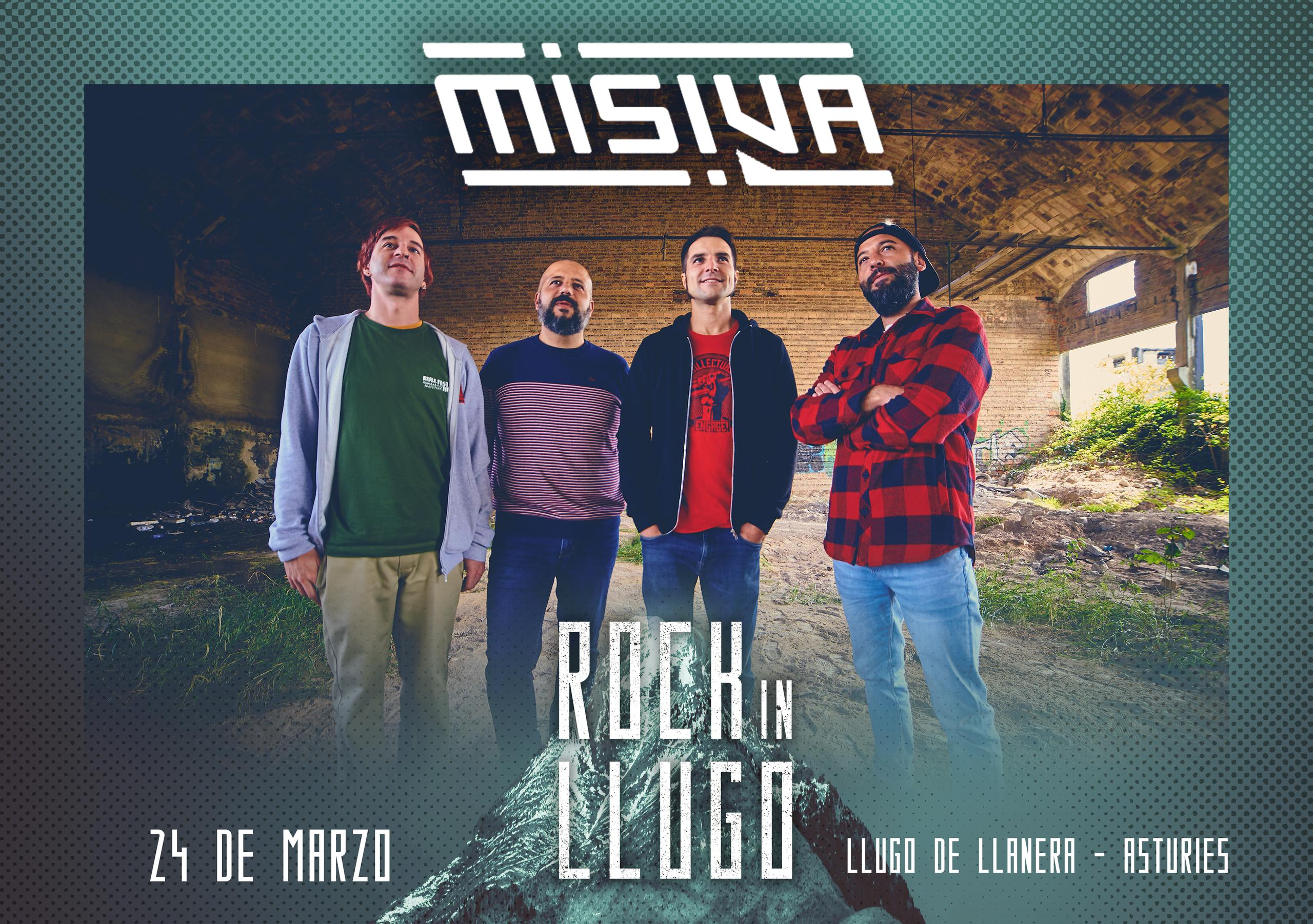 ¡¡Misiva estarán en el Rock in Llugo!!