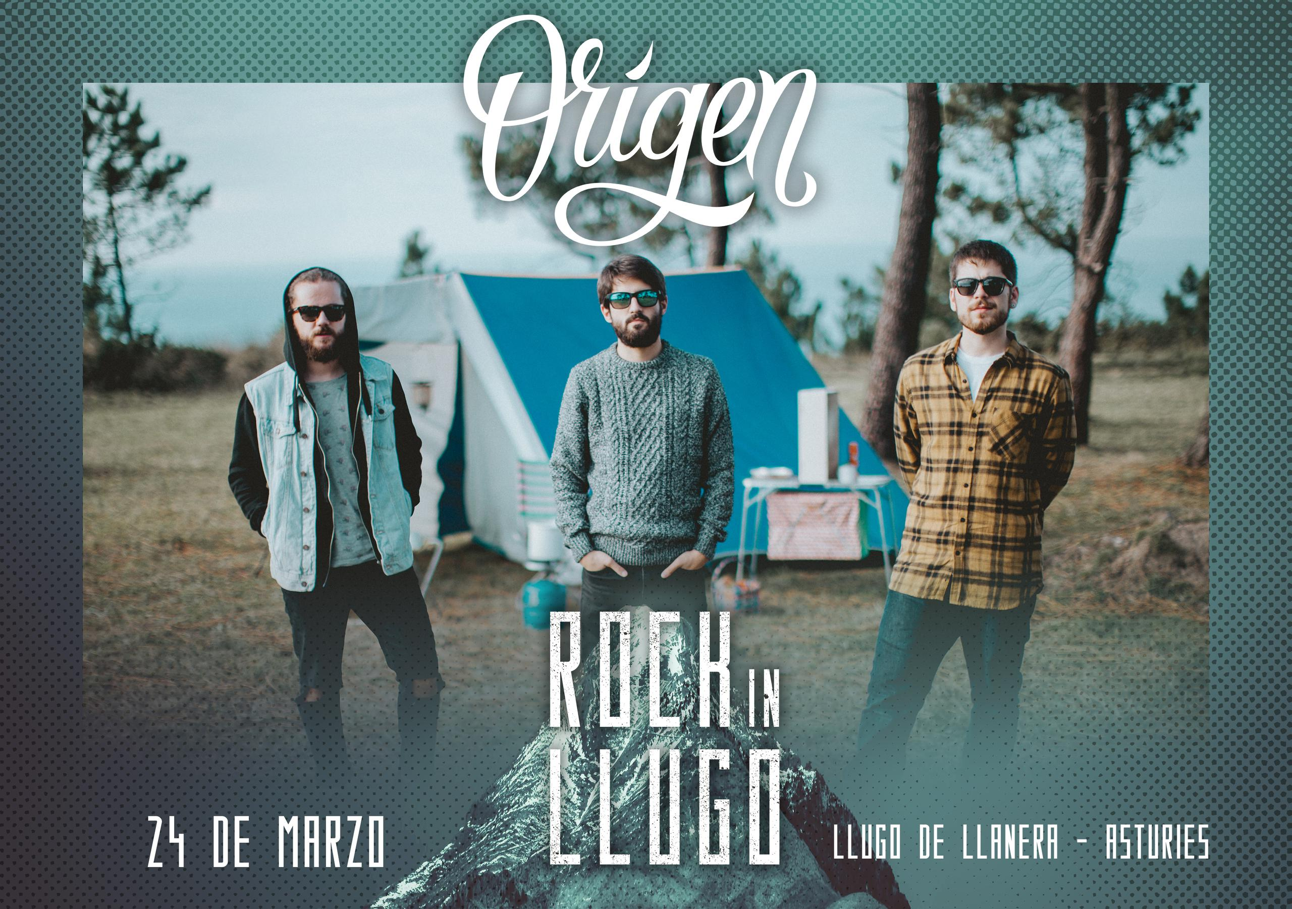 ¡¡Origen estarán en el Rock in Llugo!!