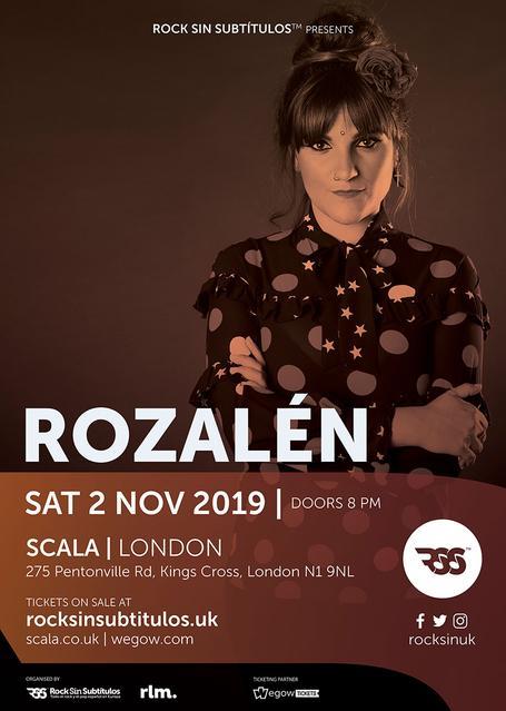 Sábado 2 Noviembre 2019 / 20 horas @ Scala, Londres