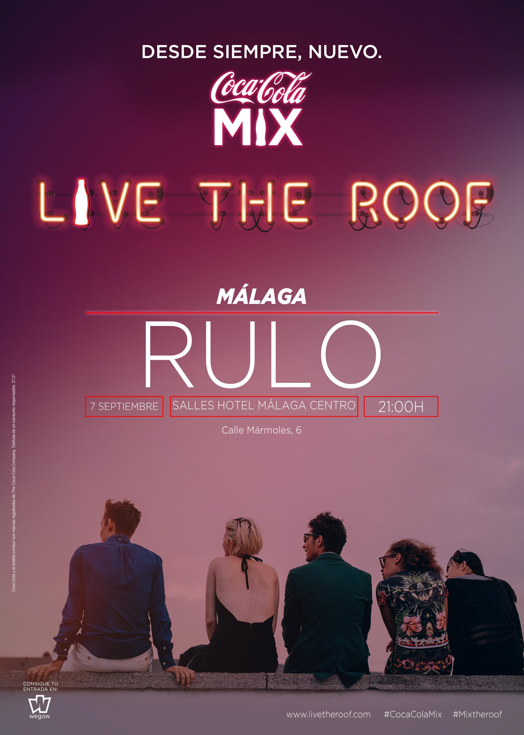 Rulo en LIVE THE ROOF | Málaga