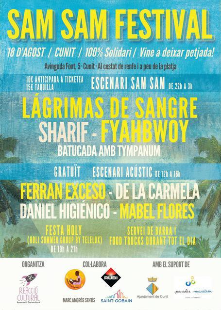 Cartel Sam Sam Festival 2019