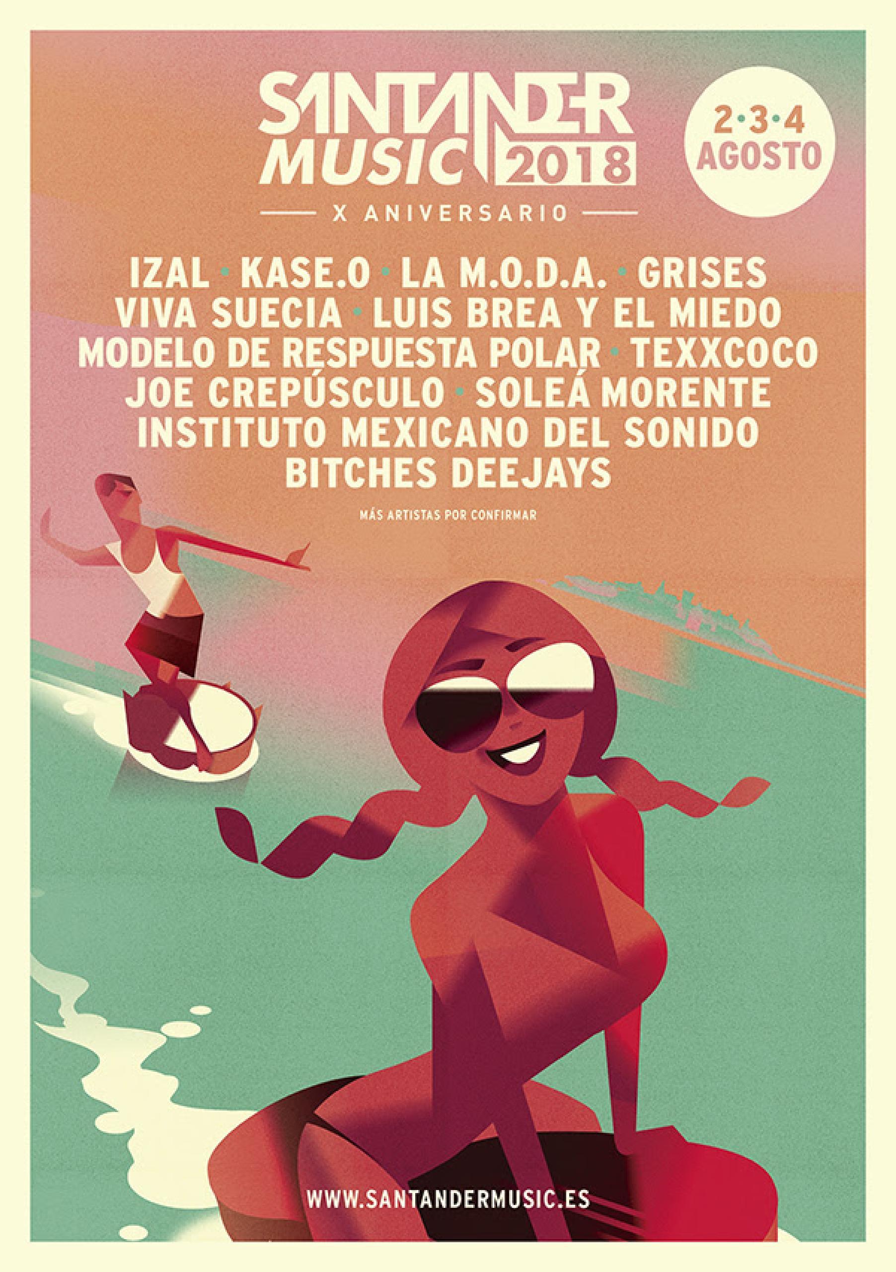 Cartel festival Santander Music 2018
