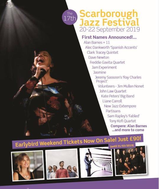 Scarborough Jazz Festival 2019