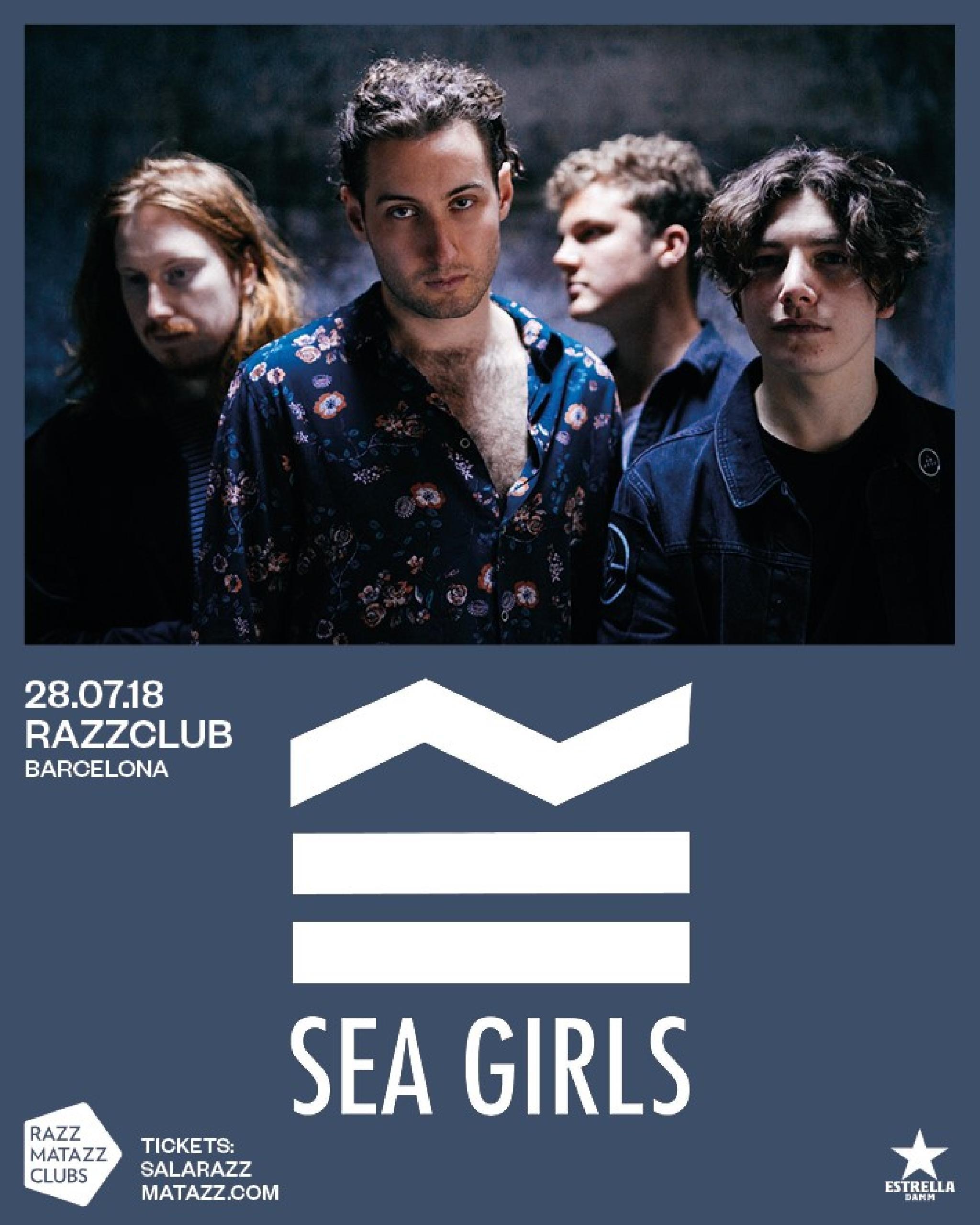 Entradas Sea Girls en Barcelona. Gira Sea Grils. Sea Girls España. Concierto Sea Girls. Sea Girls Razzmatazz
