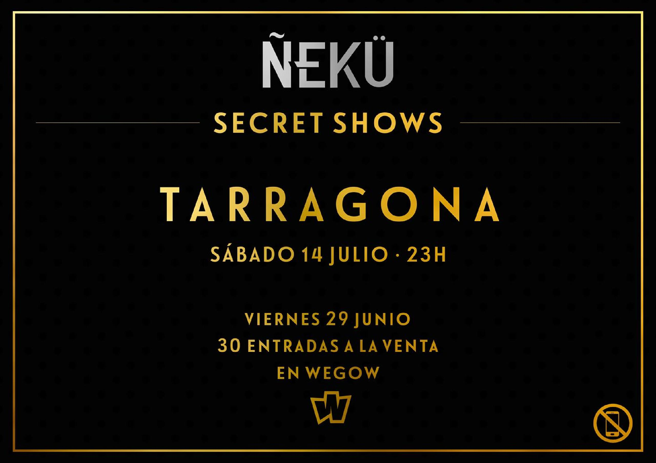 5 ciudades, 5 oportunidades de ver el exclusivo Secret Show.