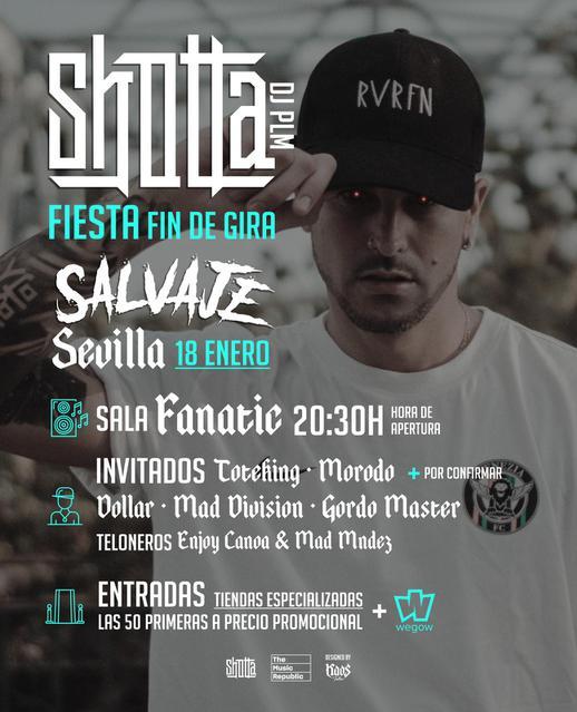 Shotta en Sevilla