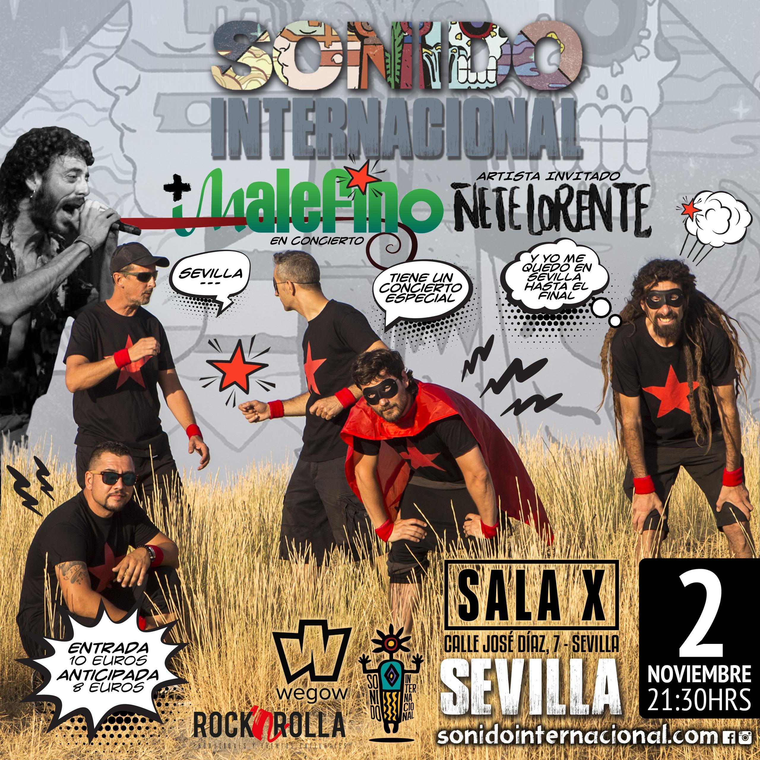 sonido internacional + Malefino