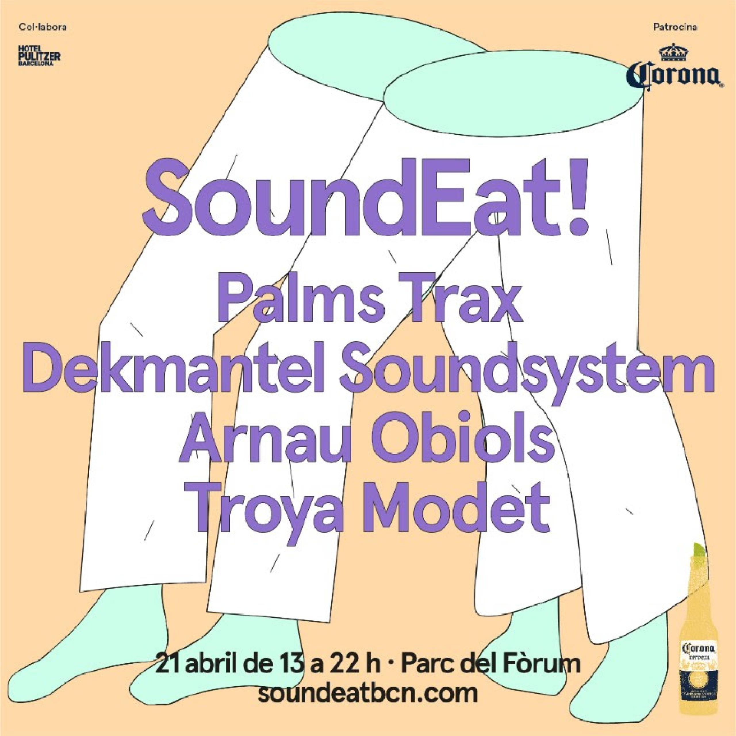 Cartel Soundeat 21 abril 2018 Barcelona