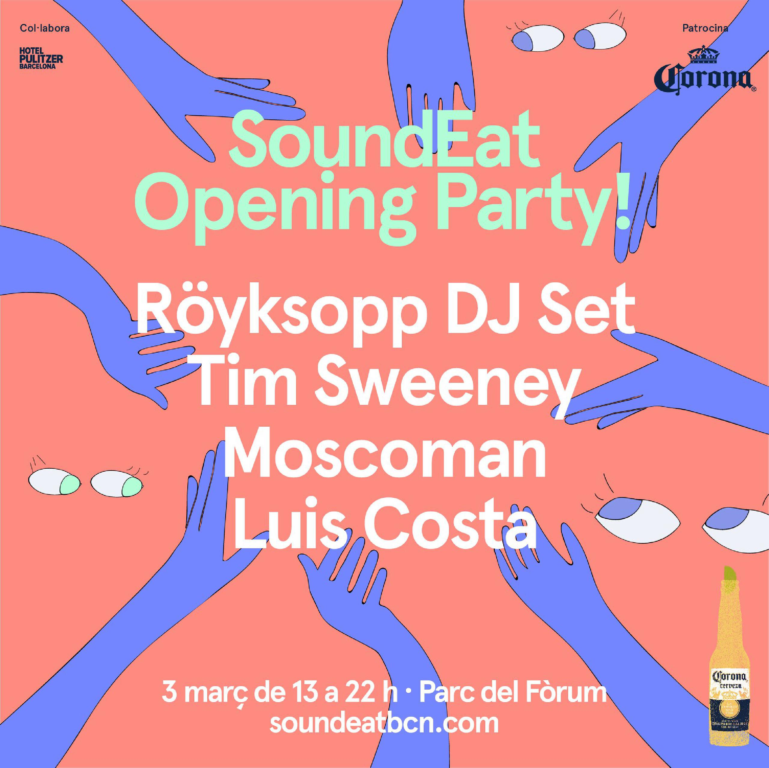 Line Up SoundEat Barcelona 2018