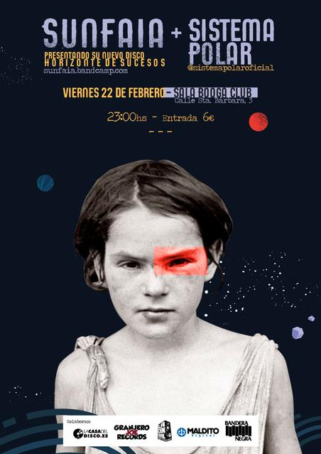 SUNFAIA + SISTEMA POLAR en concierto.