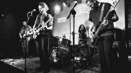 Presentación de su nuevo disco el pasado 8 de febrero en la sala Moby Dick de Madrid.