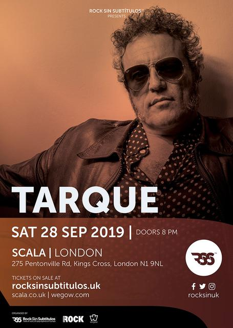 Sábado 28 septiembre 2019 / 20 horas @ Scala, Londres