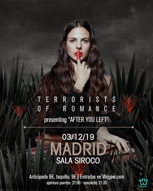 Terrorists of Romance en Madrid