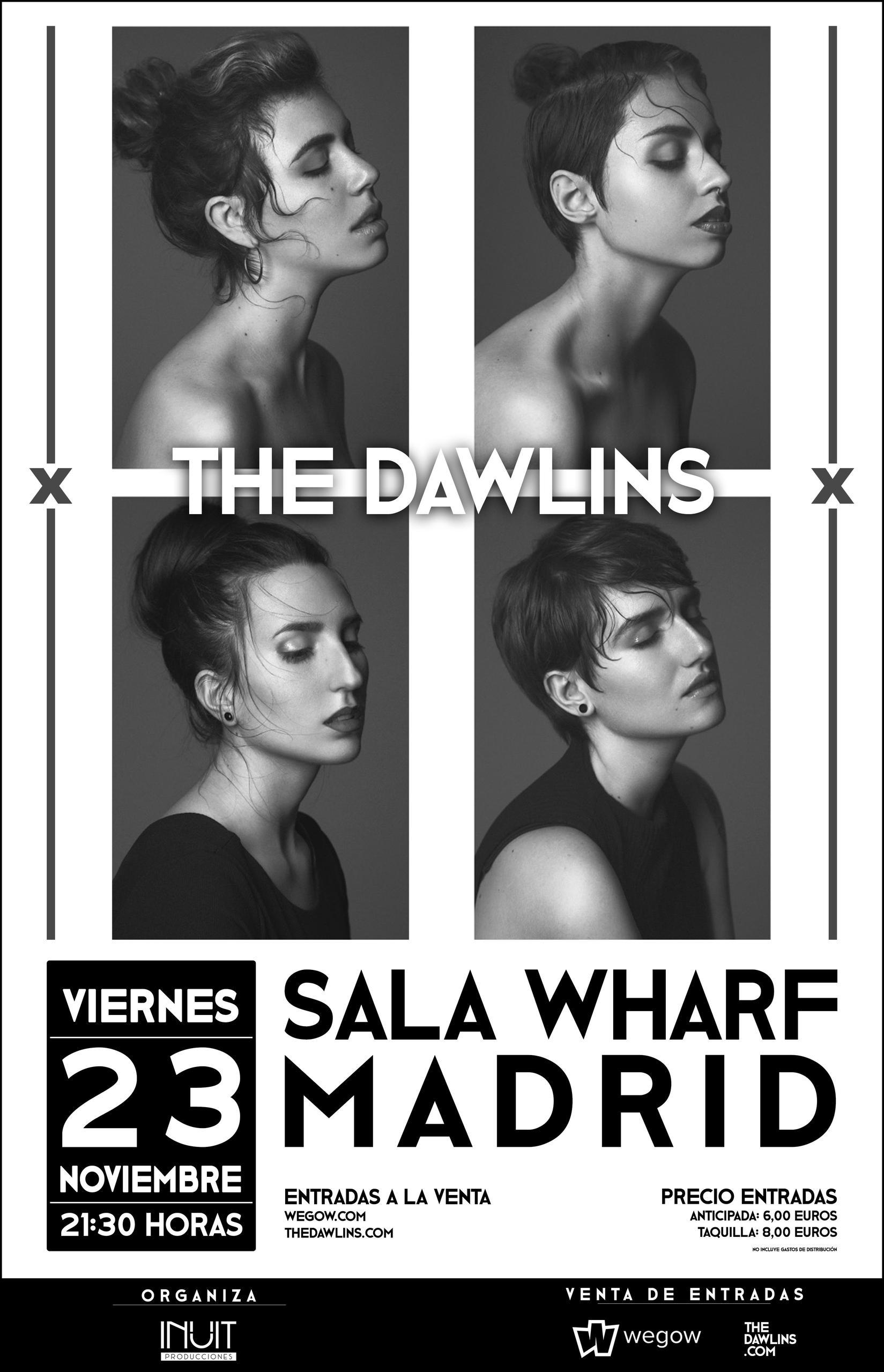 The Dawlins en Sala Wharf (Madrid)