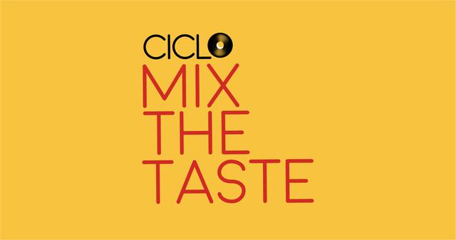 Cartel del Ciclo de conciertos acústicos Mix The Taste en el Restaurante NuBel del Museo Reina Sofía de Madrid.