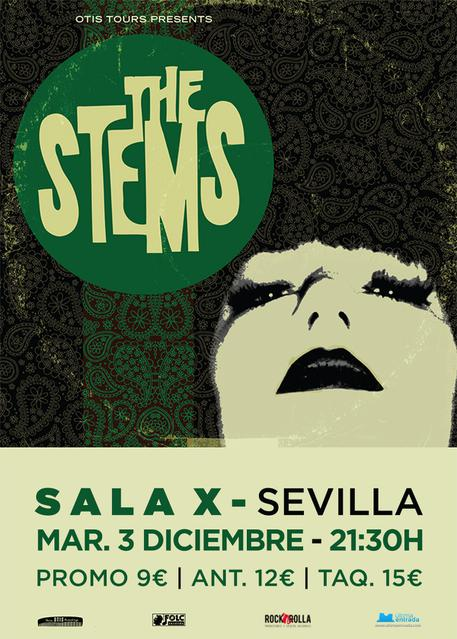 The Stems en Sala X, Sevilla