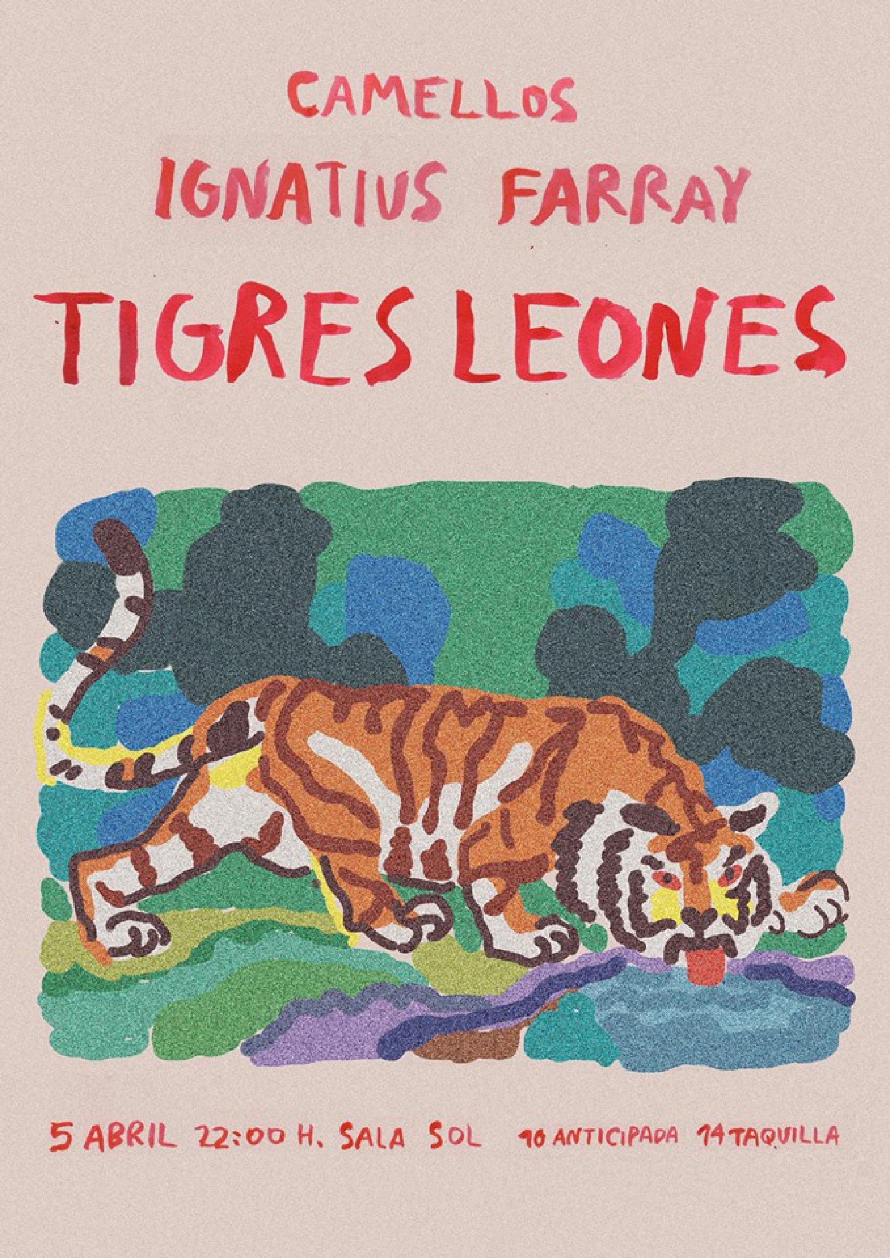 Cartel Tigres Leones, Ignatius Farray, Camello