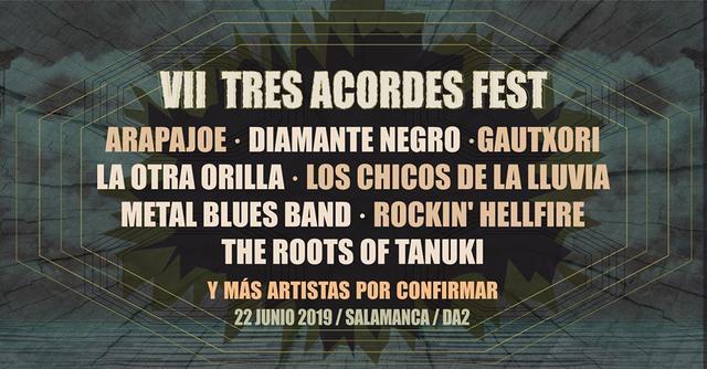 Cartel Tres Acordes Fest 2019