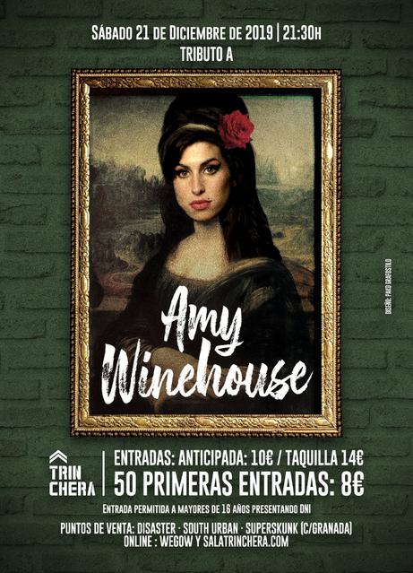 Tributo a Amy Winehouse - Sala Trinchera