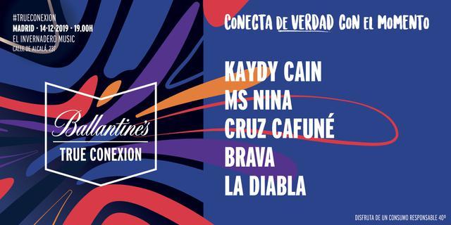Cartel de True Conexion Madrid