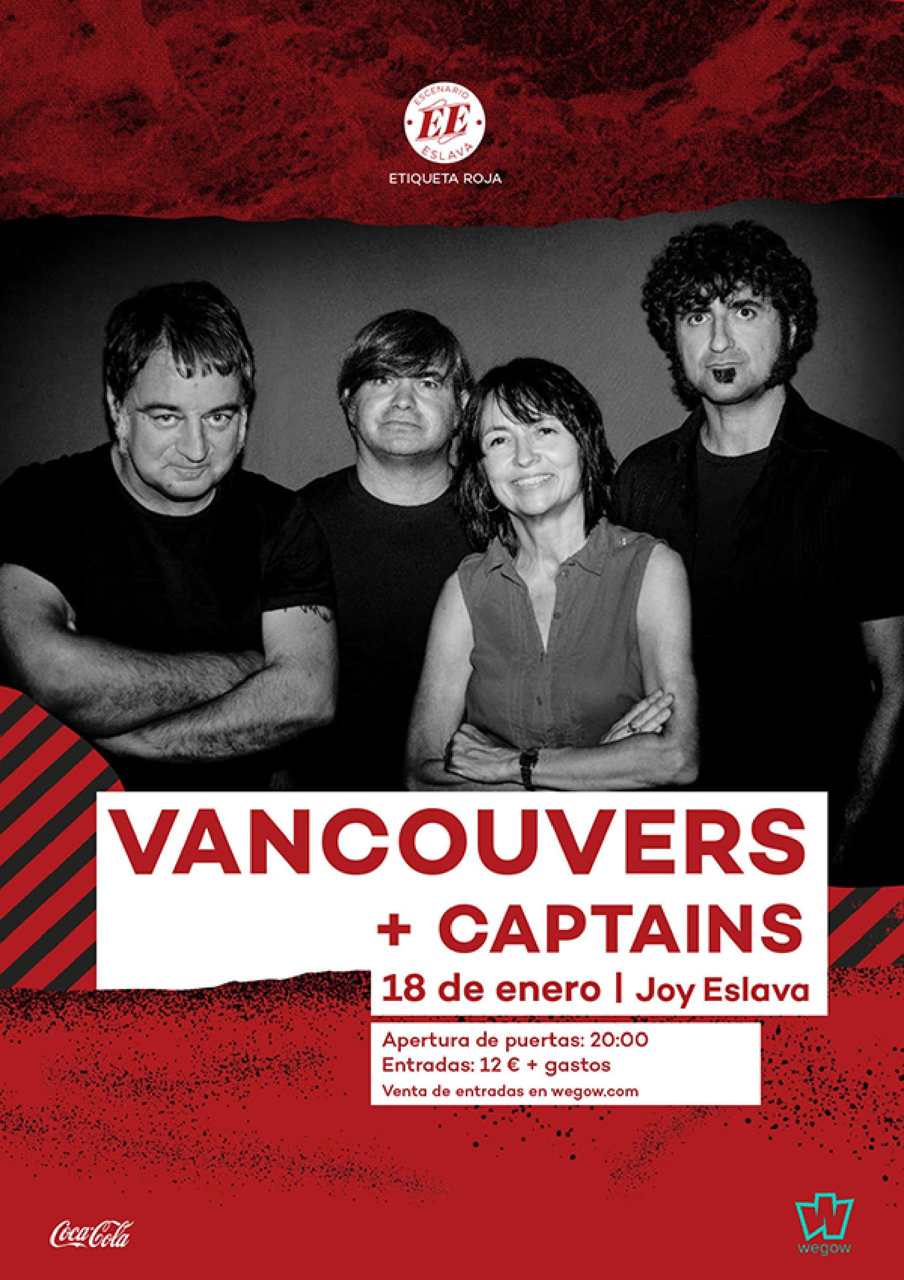 vancouvers captains cartel concierto joy eslava escenario eslava