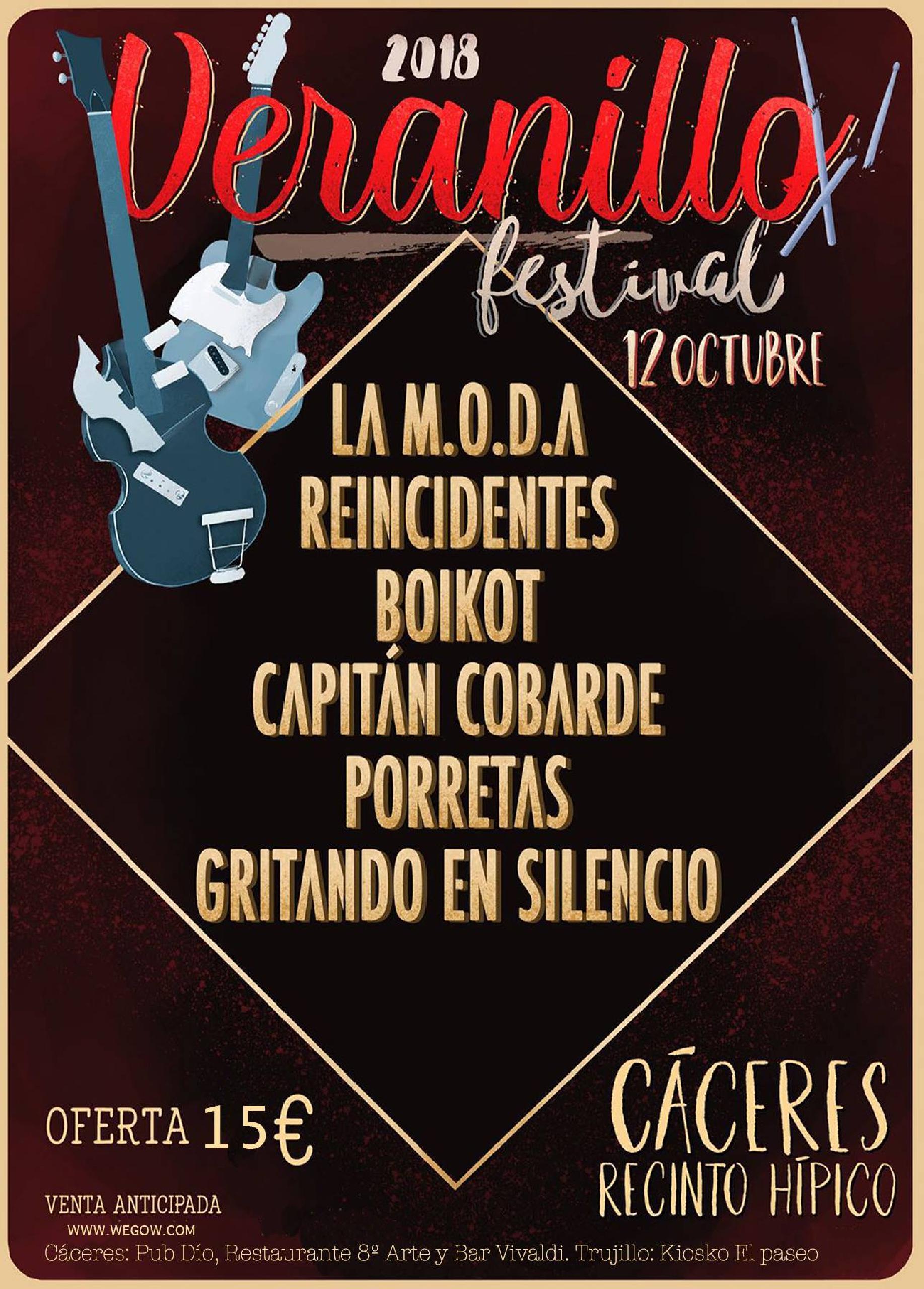 Cartel Veranillo Festival