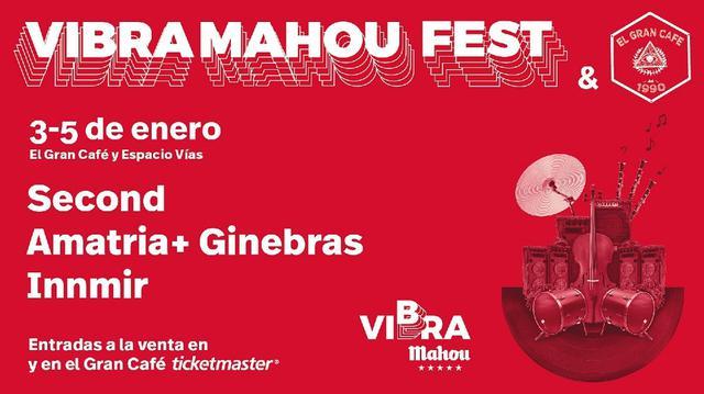 Cartel de Vibra Mahou Fest de León