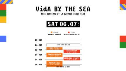 Horarios Vida Festival 2019 by the sea