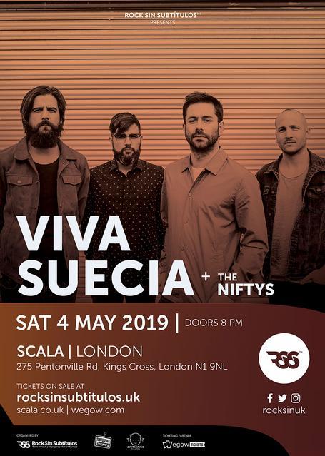 Sábado 4 Mayo 2019 / 20 horas @ Scala, Londres