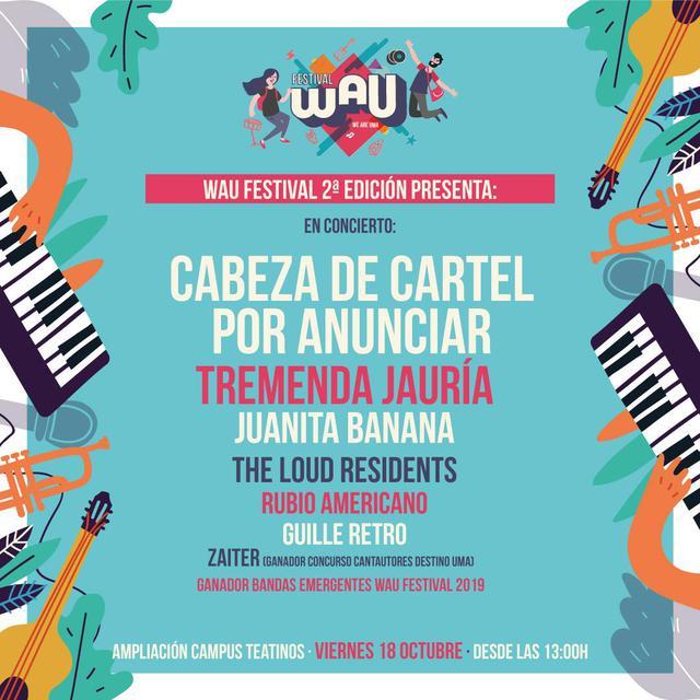 Cartel WAU Festival 2019