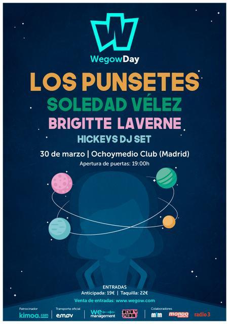 Cartel Wegow Day Madrid 2019