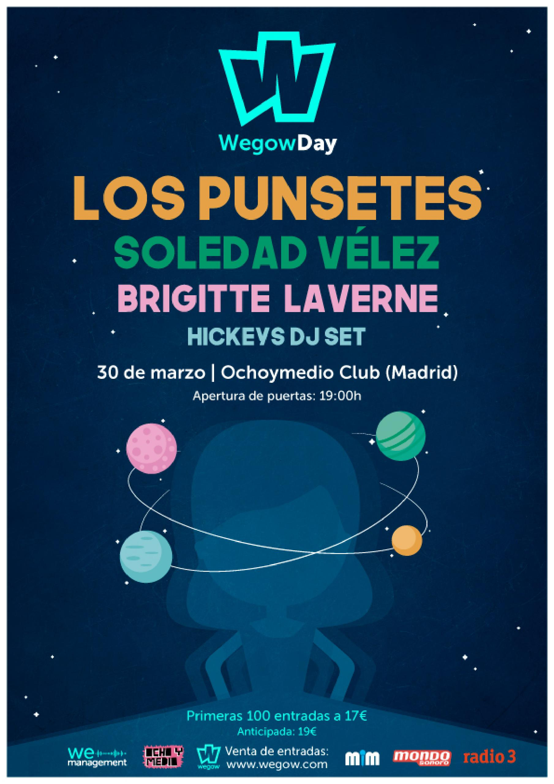 Cartel Wegow Day Madrid 2019