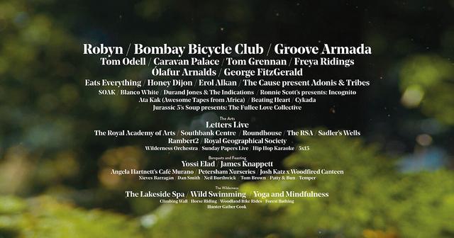 Wilderness Festival 2019