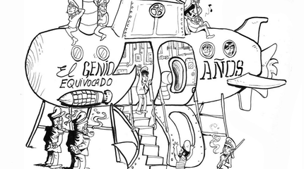 10º Aniversario El Genio Equivocado: Joaquín Pascual, Roldán y Hazte lapón, El Sol (Madrid)