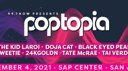 Black Eyed Peas + Doja Cat + The Kid Laroi concert in San Jose